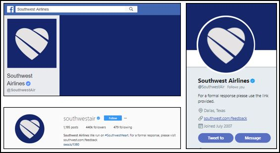 southwest airlines adjusted their branding following the crisis
