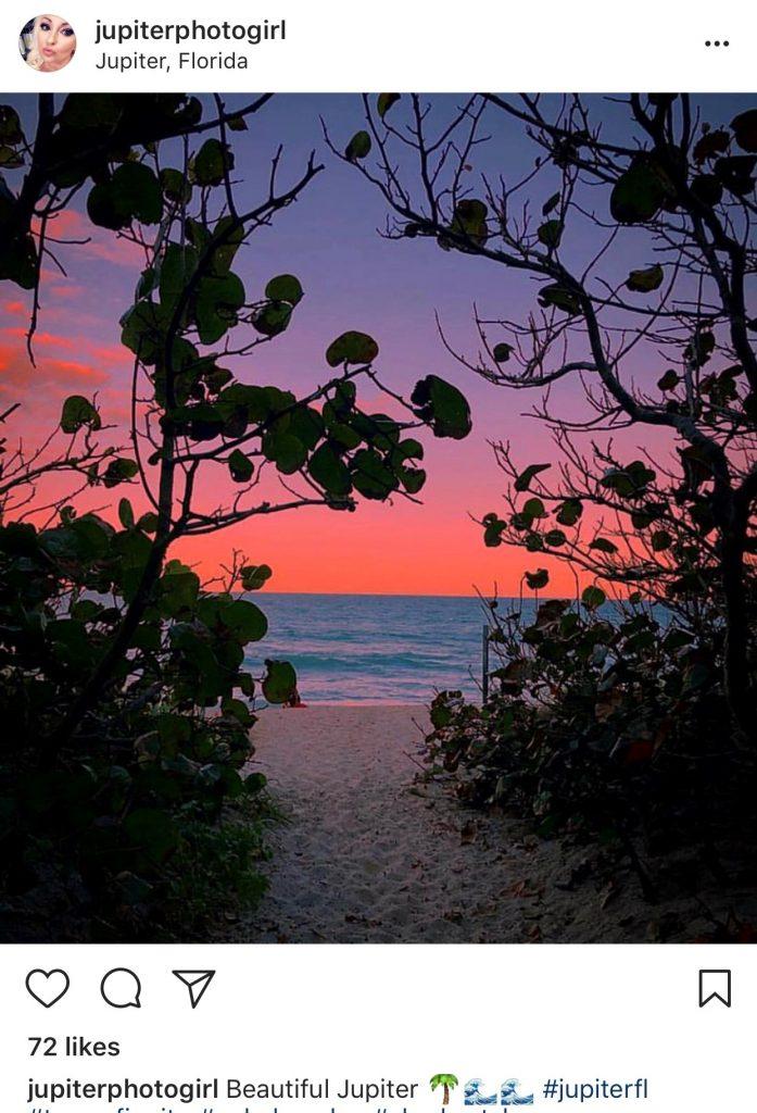 Scenic Florida shot by Jupiter Photo Girl on Instagram